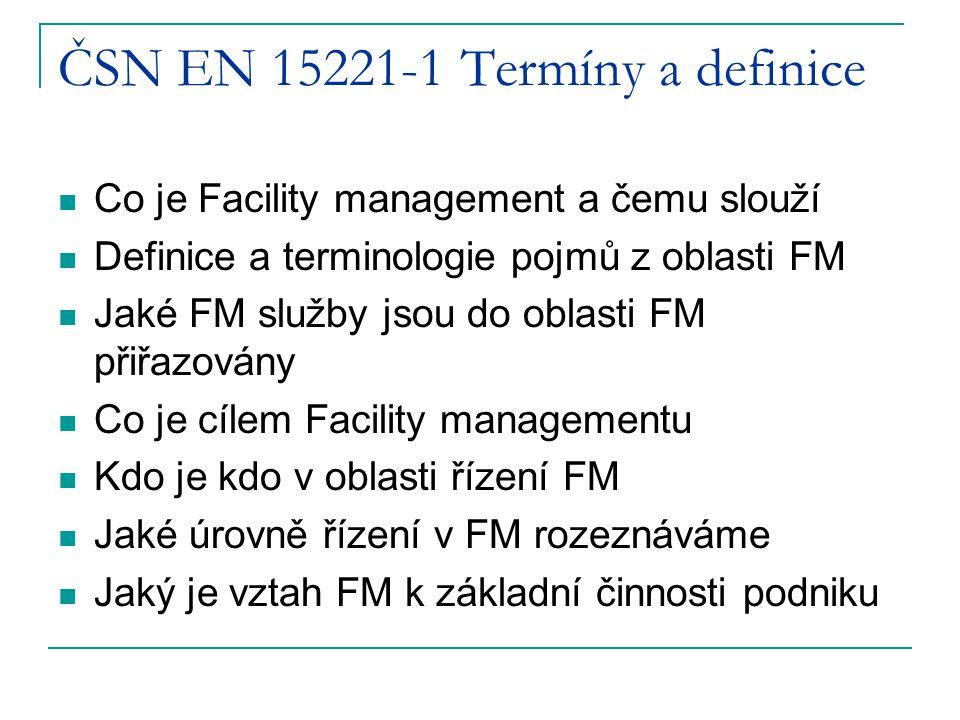 ČSN EN 15221-1 Termíny a definice