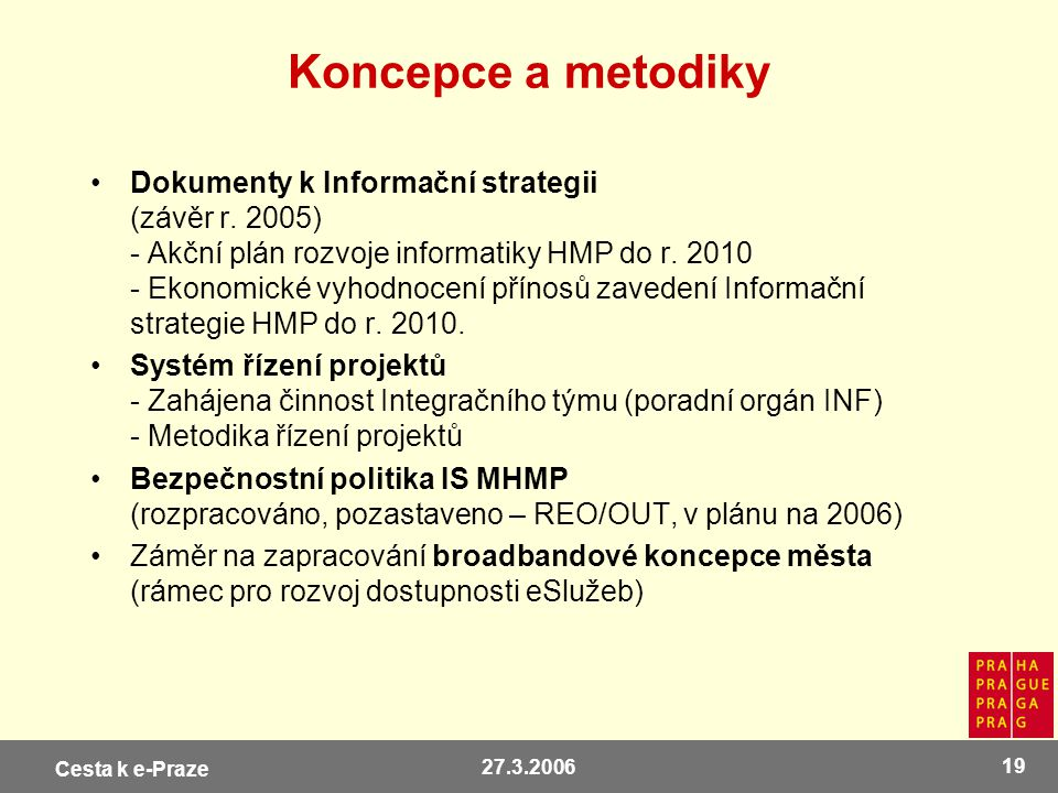 Koncepce a metodiky