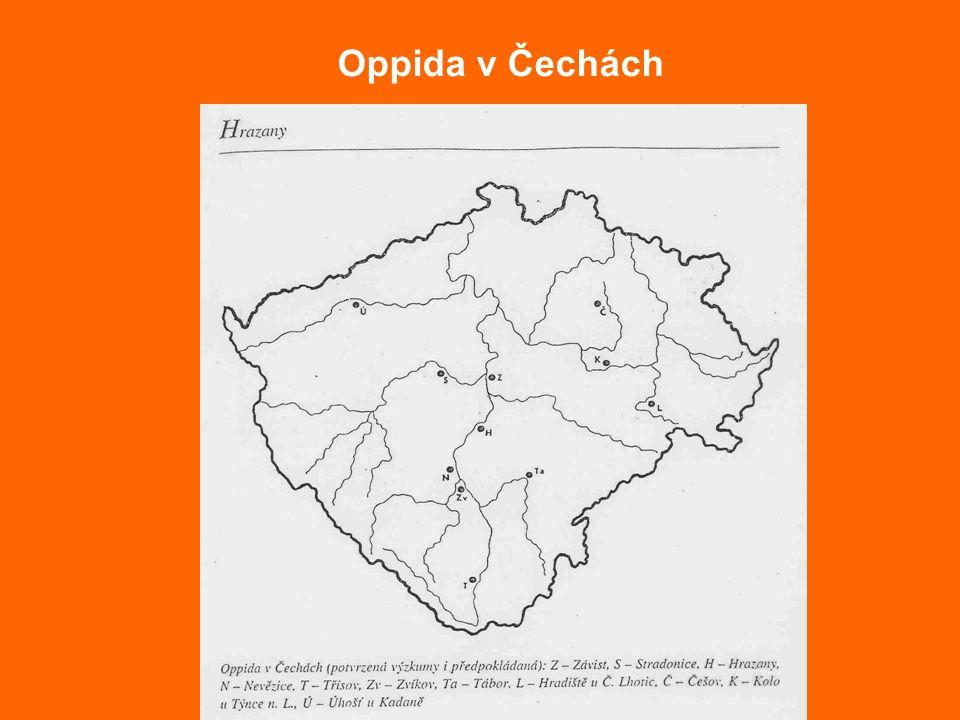 Oppida v Čechách
