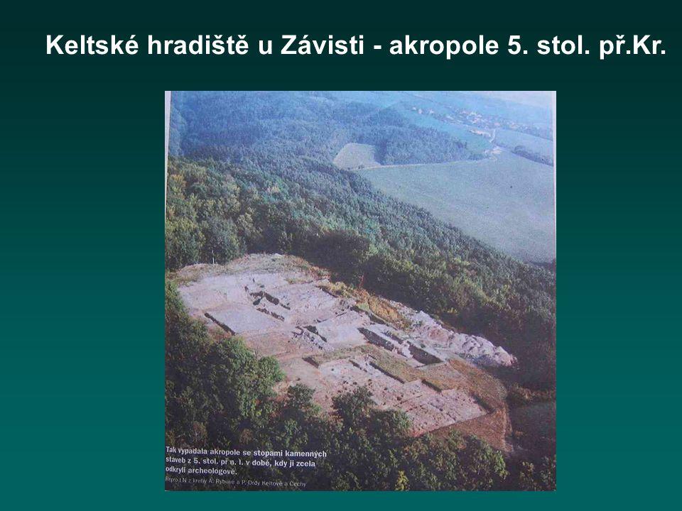 Keltské hradiště u Závisti - akropole 5. stol. př.Kr.