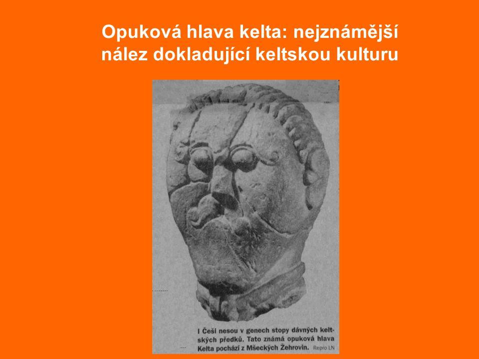 Opuková hlava kelta: nejznámější nález dokladující keltskou kulturu