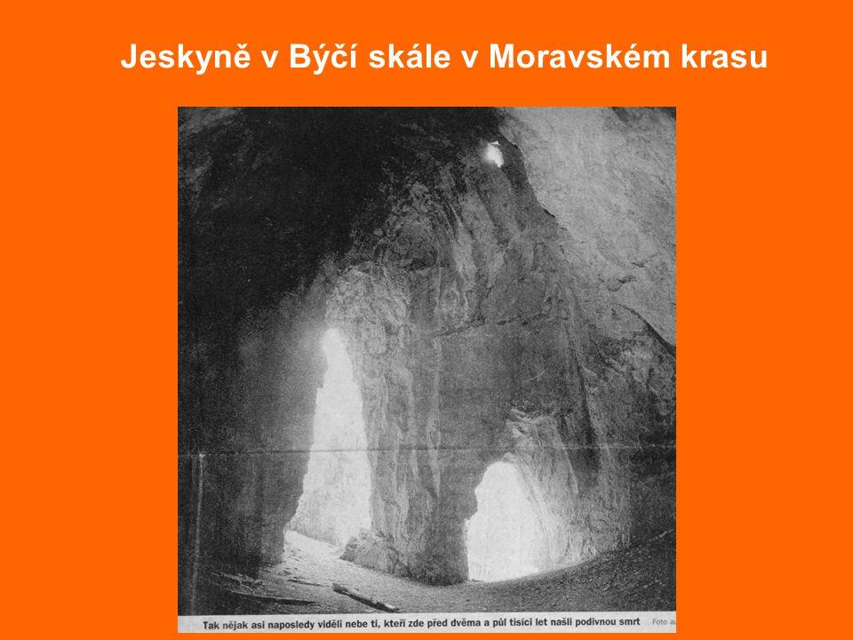 Jeskyně v Býčí skále v Moravském krasu