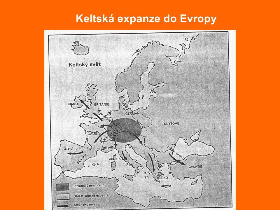 Keltská expanze do Evropy