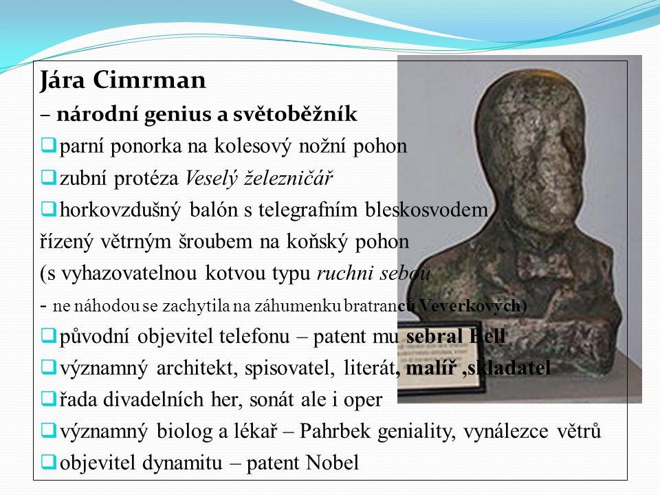Jára Cimrman – národní genius a světoběžník