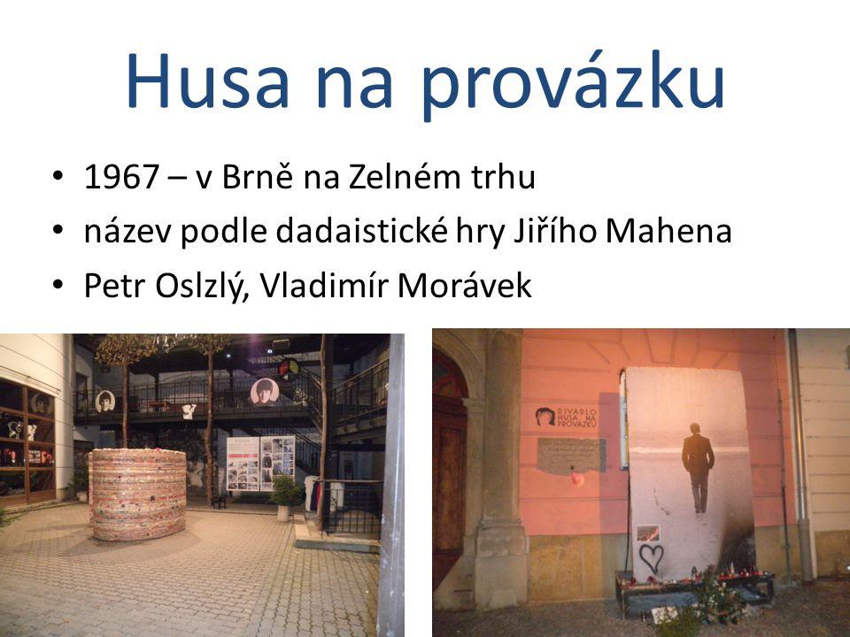 Husa na provázku 1967 – v Brně na Zelném trhu