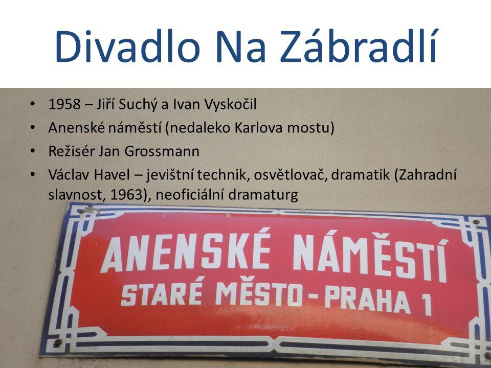 Divadlo Na Zábradlí 1958 – Jiří Suchý a Ivan Vyskočil