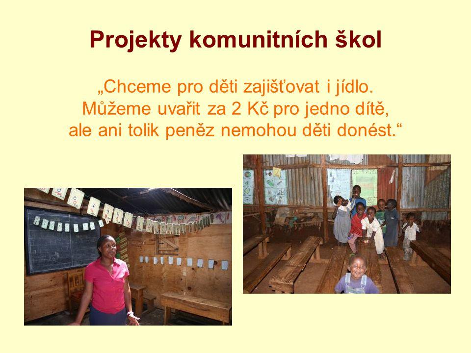 """Projekty komunitních škol """"Chceme pro děti zajišťovat i jídlo"""