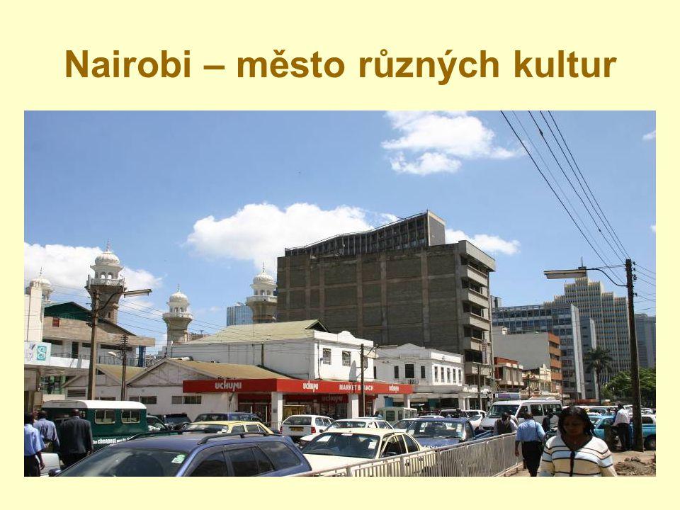 Nairobi – město různých kultur