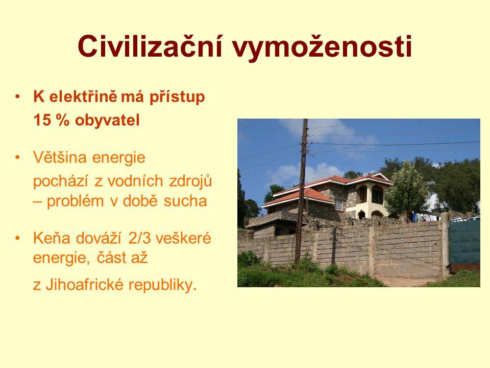 Civilizační vymoženosti