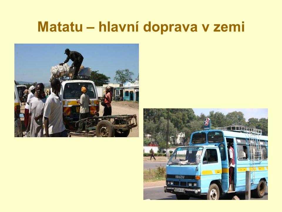 Matatu – hlavní doprava v zemi