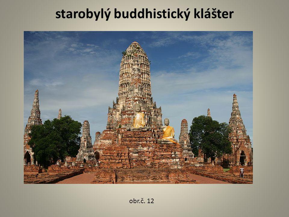 starobylý buddhistický klášter