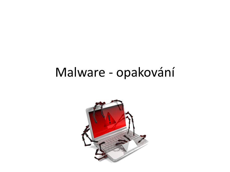 Malware - opakování