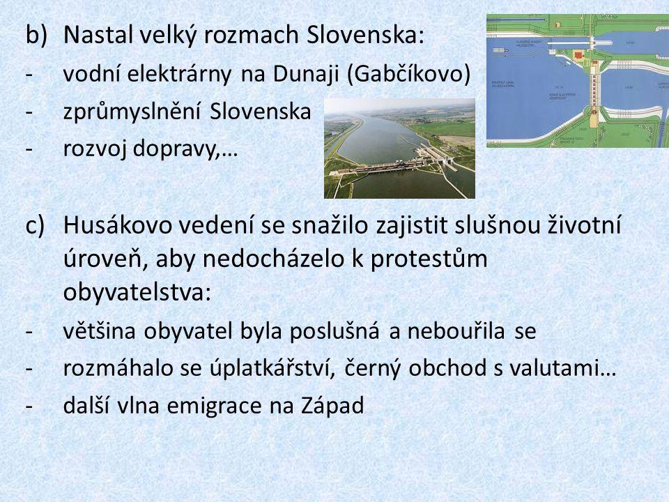 Nastal velký rozmach Slovenska: