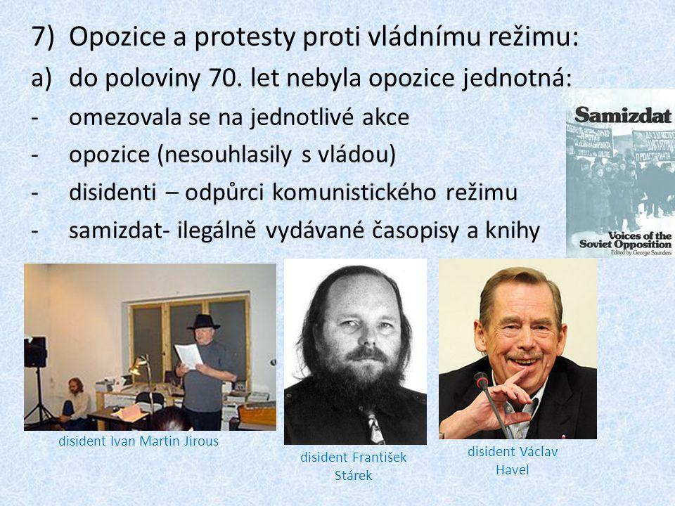 Opozice a protesty proti vládnímu režimu: