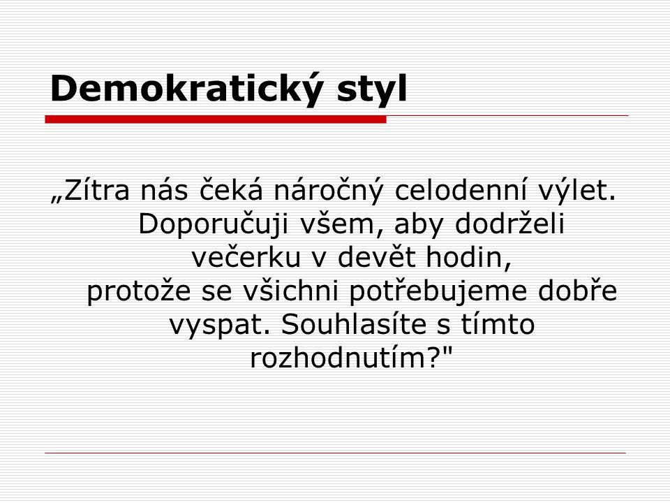 Demokratický styl