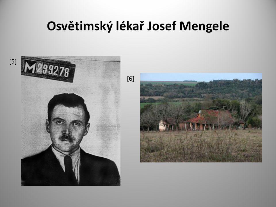 Osvětimský lékař Josef Mengele