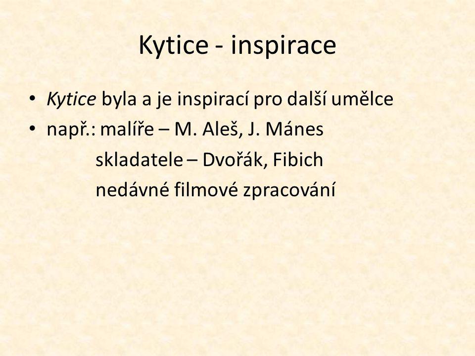 Kytice - inspirace Kytice byla a je inspirací pro další umělce