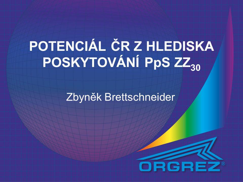 POTENCIÁL ČR Z HLEDISKA POSKYTOVÁNÍ PpS ZZ30