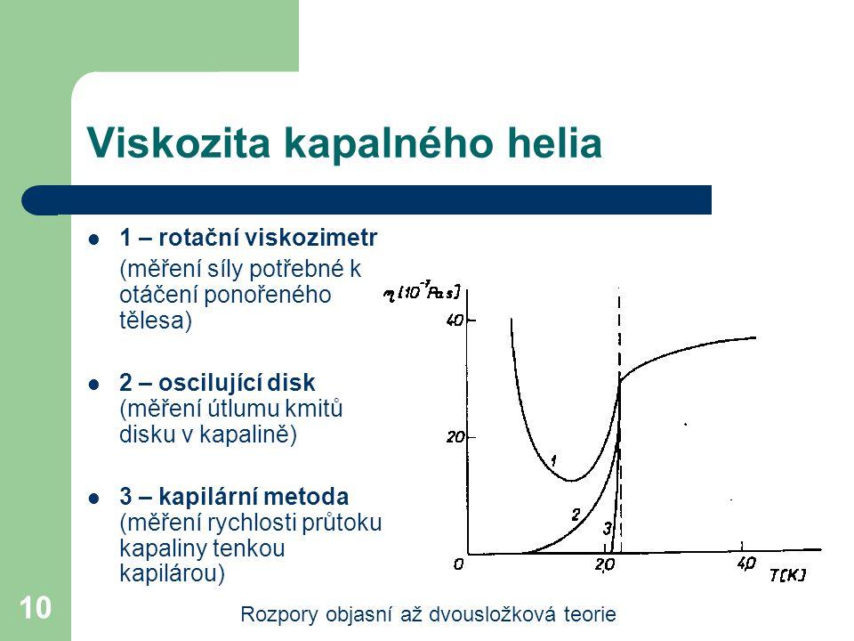 Viskozita kapalného helia