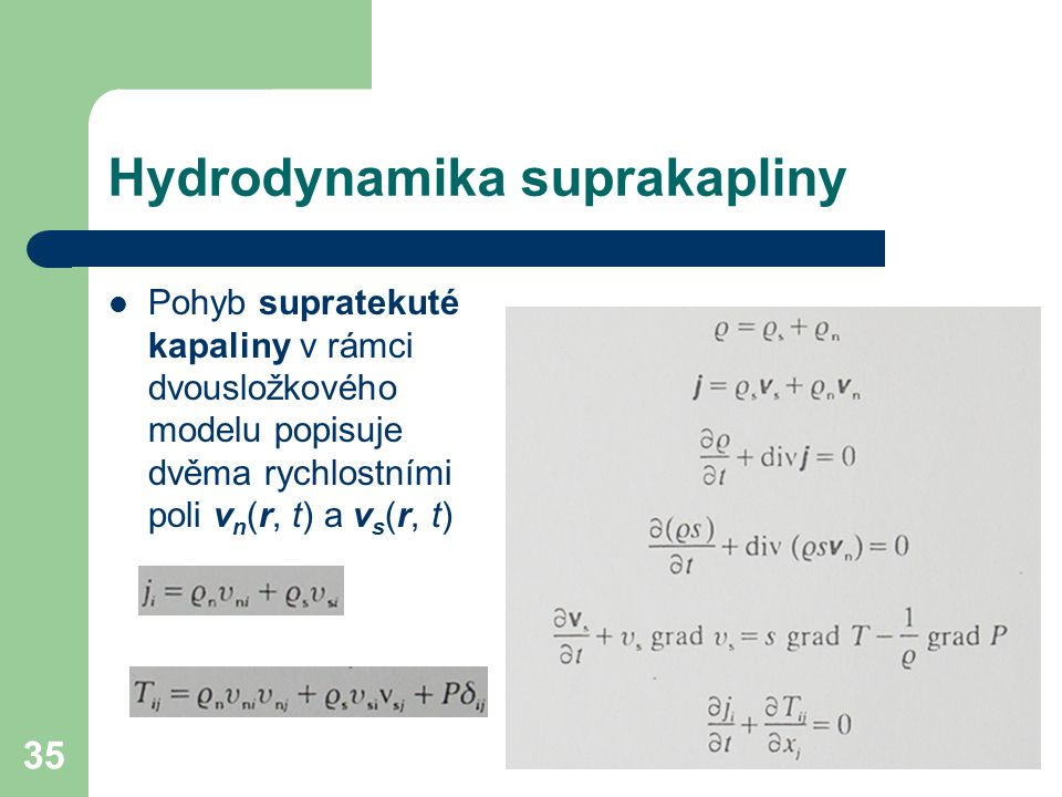 Hydrodynamika suprakapliny
