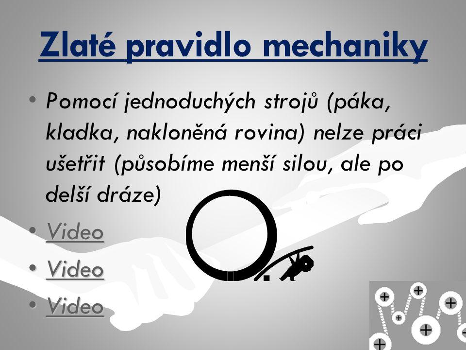 Zlaté pravidlo mechaniky