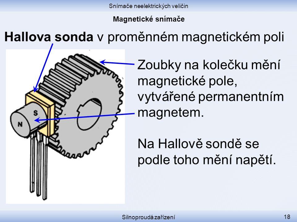 Snímače neelektrických veličin