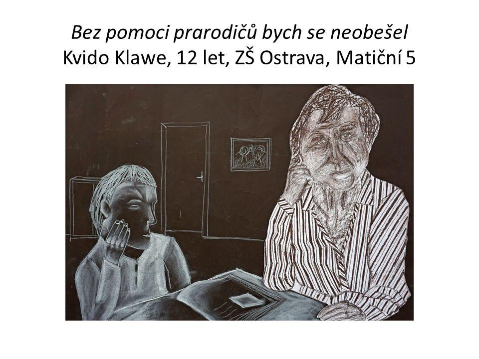 Bez pomoci prarodičů bych se neobešel Kvido Klawe, 12 let, ZŠ Ostrava, Matiční 5
