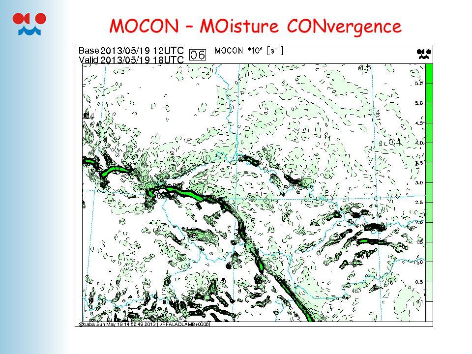 MOCON – MOisture CONvergence