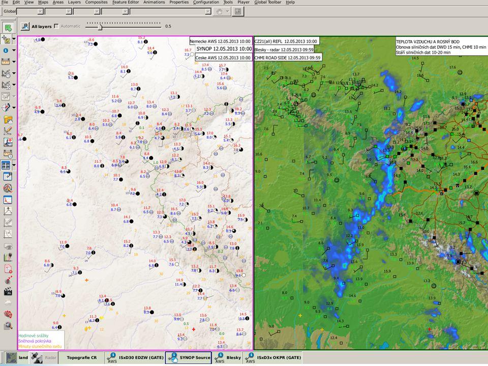 Multiview umožňuje synchronizovat plochu i čas zobrazených map