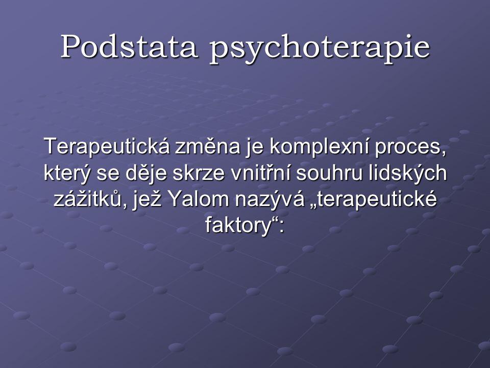 Podstata psychoterapie