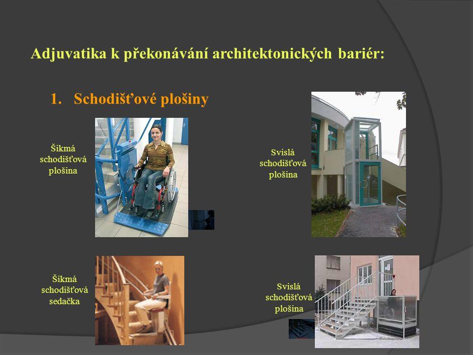 Adjuvatika k překonávání architektonických bariér: