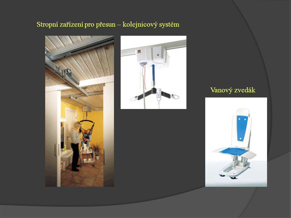 Stropní zařízení pro přesun – kolejnicový systém