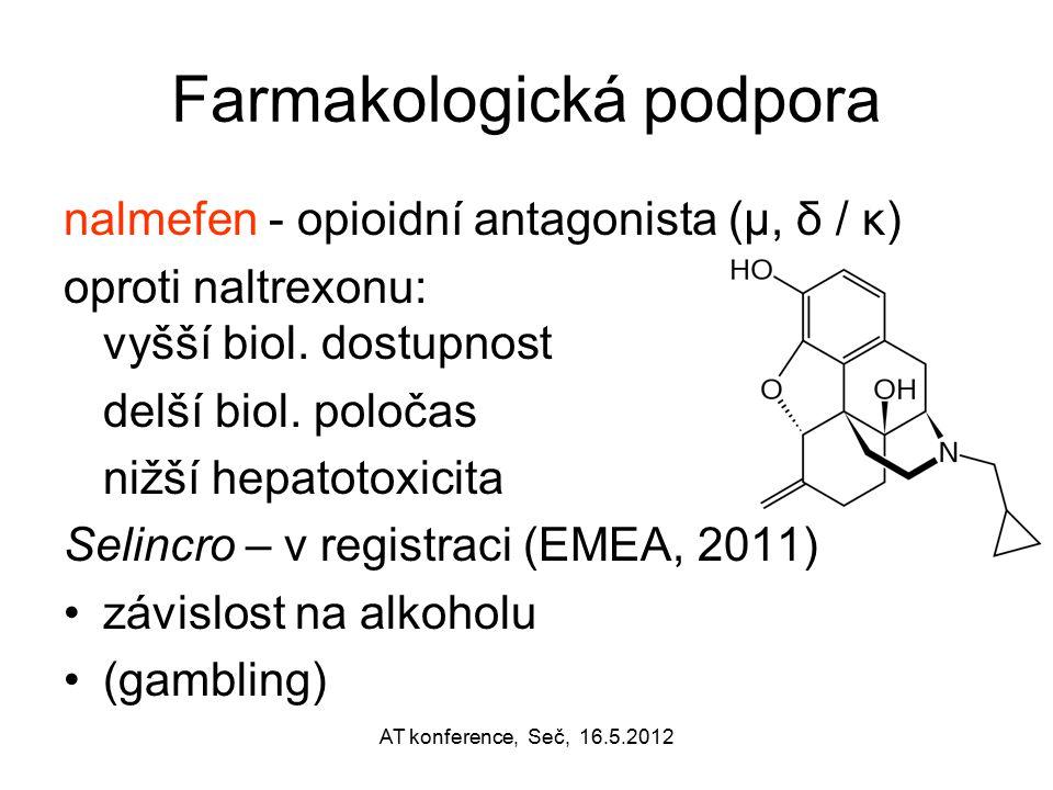 Farmakologická podpora