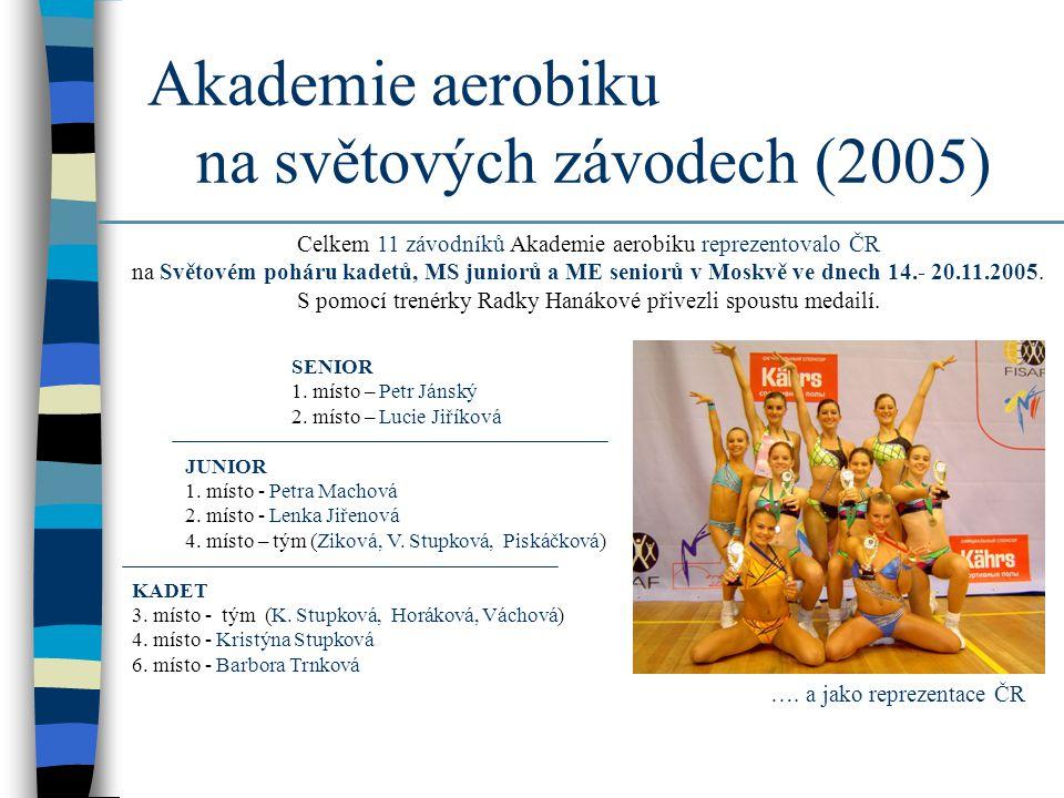 Akademie aerobiku na světových závodech (2005)