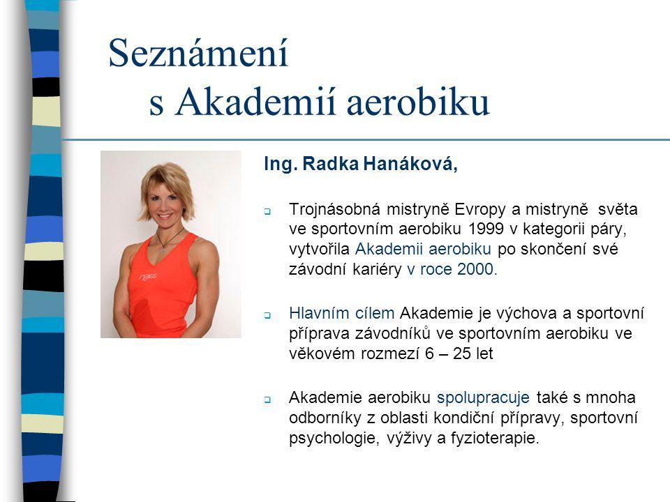 Seznámení s Akademií aerobiku