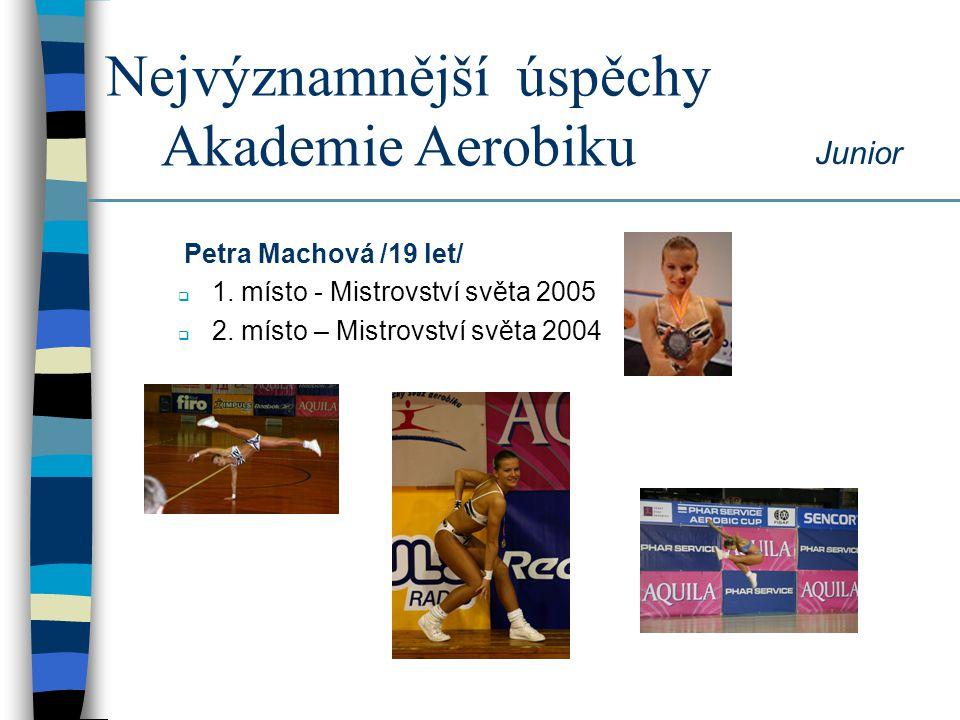 Nejvýznamnější úspěchy Akademie Aerobiku