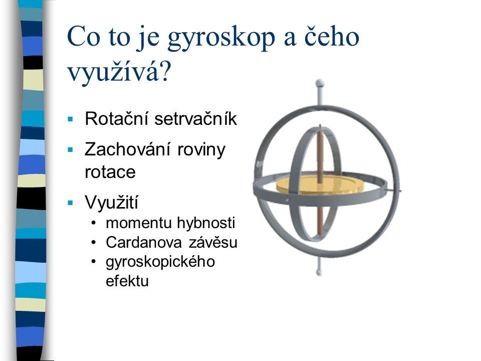 Co to je gyroskop a čeho využívá