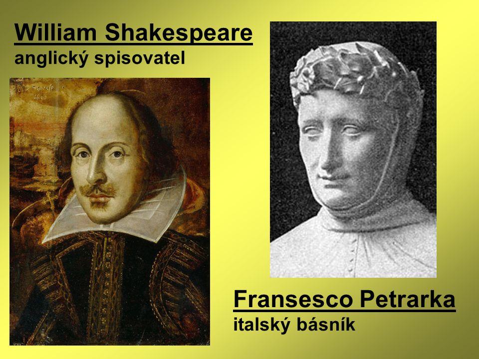 Fransesco Petrarka italský básník