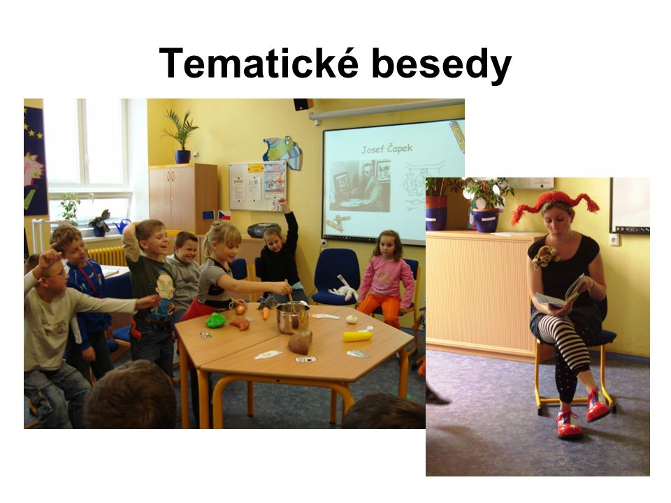 Tematické besedy