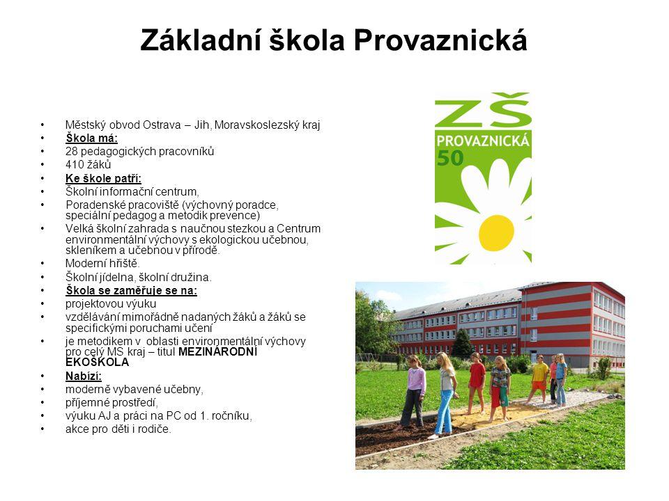 Základní škola Provaznická