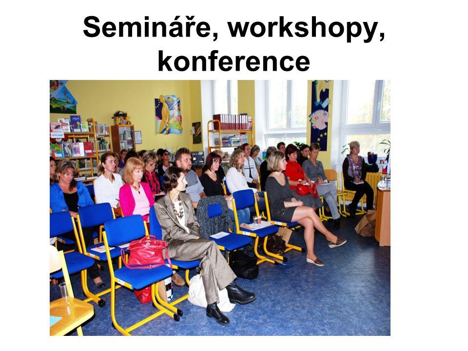 Semináře, workshopy, konference