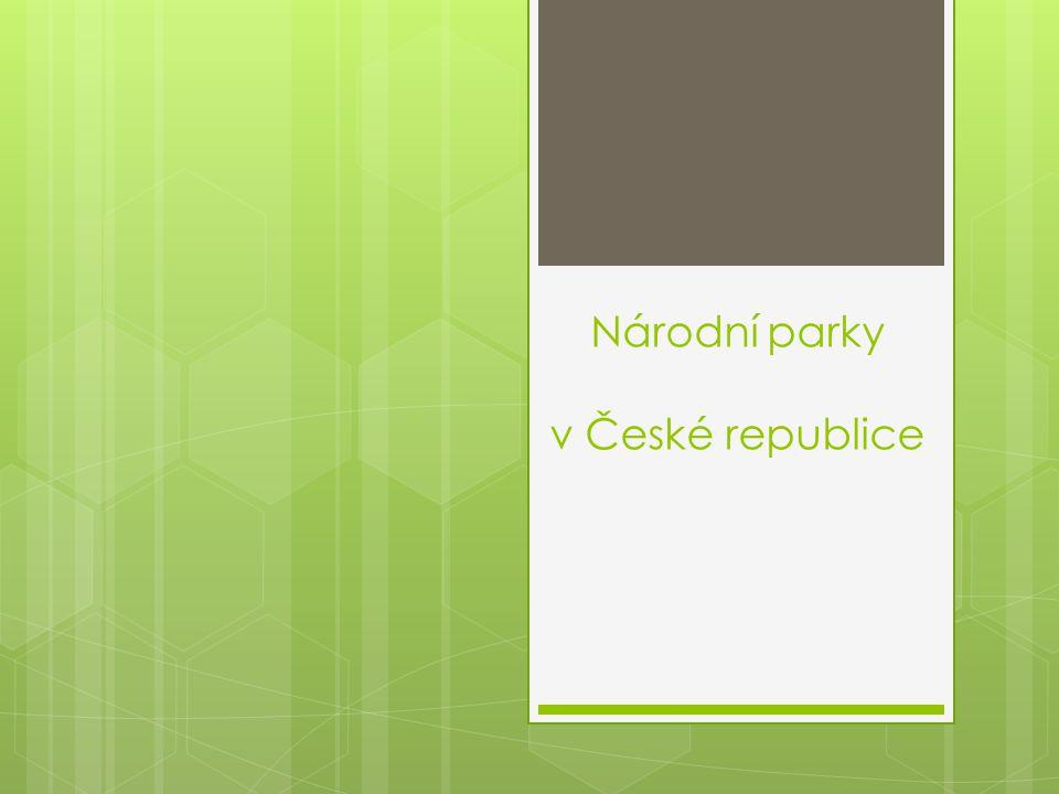 Národní parky v České republice