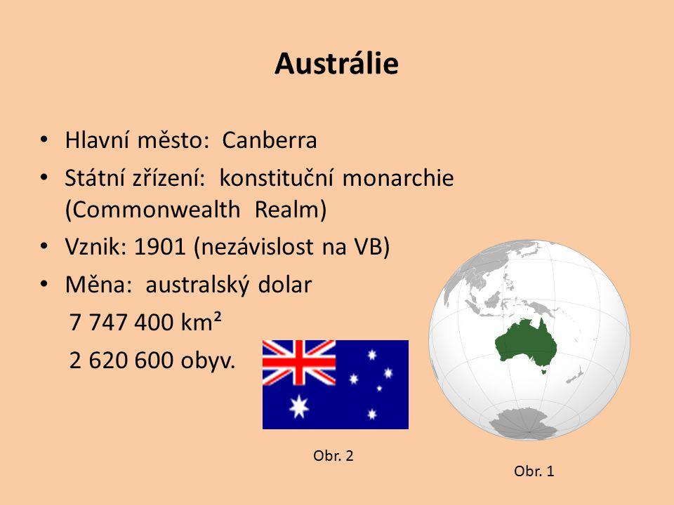 Austrálie Hlavní město: Canberra