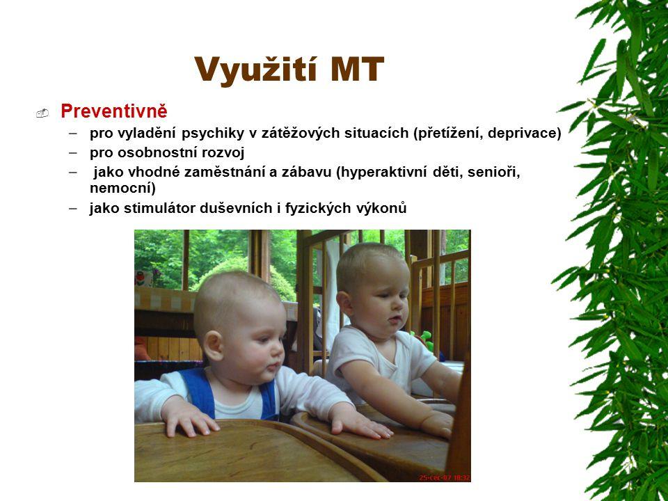 Využití MT Preventivně