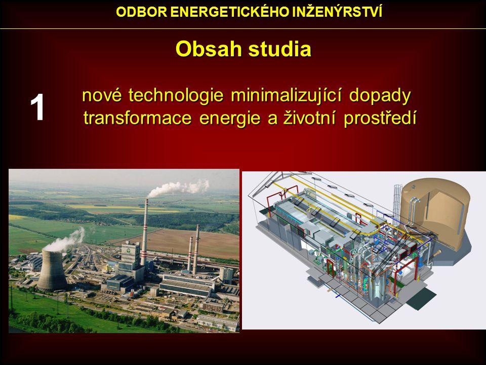 ODBOR ENERGETICKÉHO INŽENÝRSTVÍ