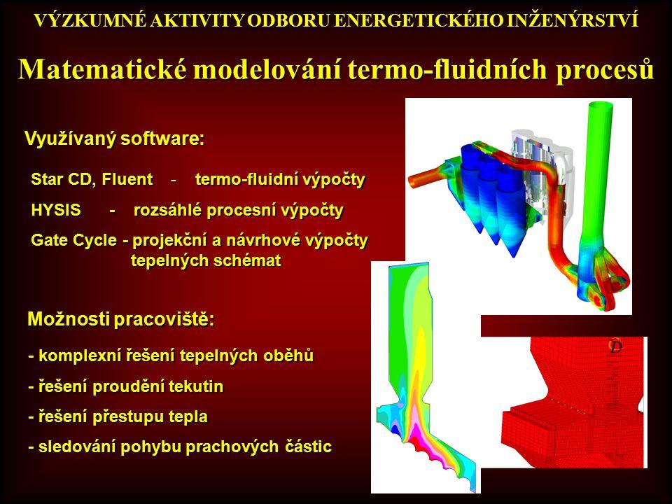 Matematické modelování termo-fluidních procesů