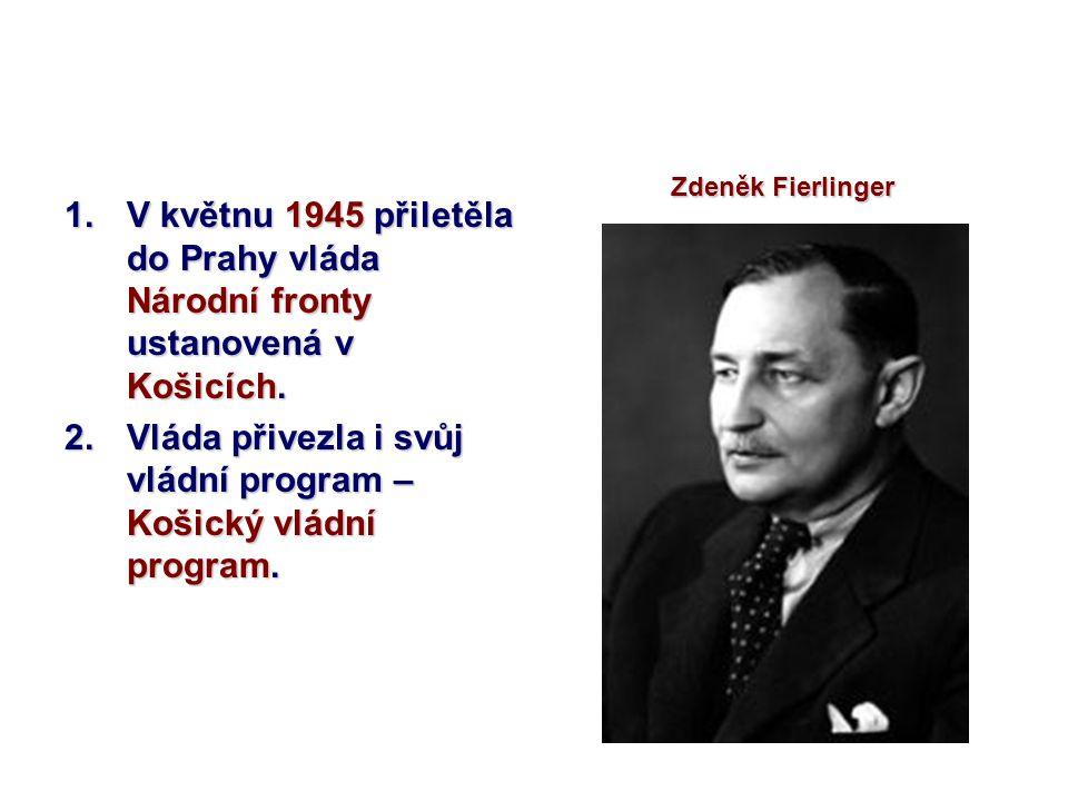 Vláda přivezla i svůj vládní program – Košický vládní program.