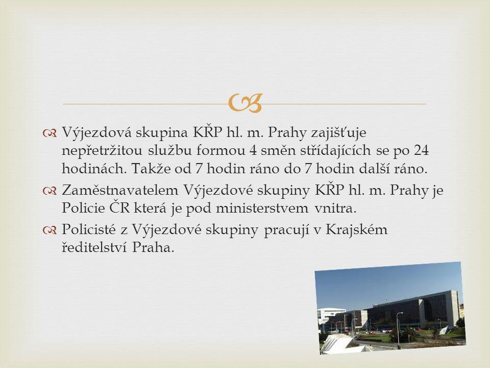 Výjezdová skupina KŘP hl. m