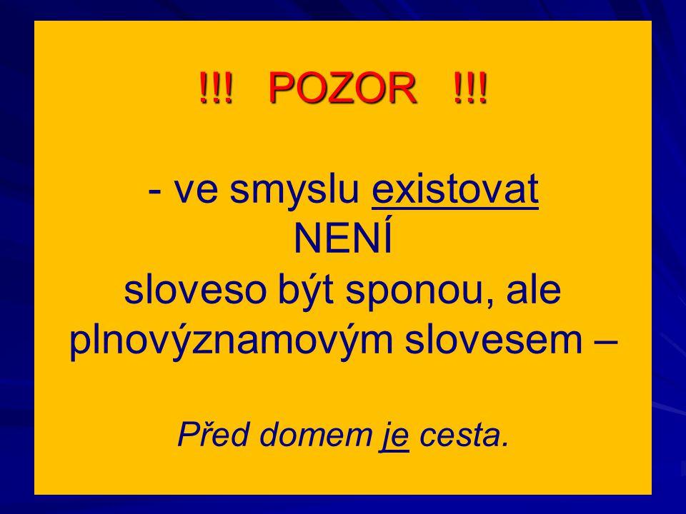 !!. POZOR !!.