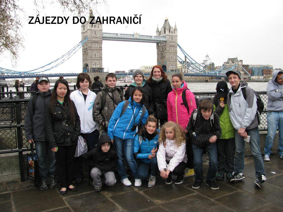 Zájezdy do zahraničí